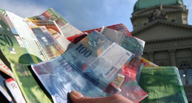 La Confédération dégage un excédent de 3,1 milliards en 2019