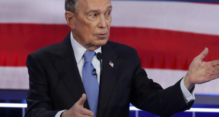 Bloomberg assailli par ses rivaux pour son premier débat démocrate