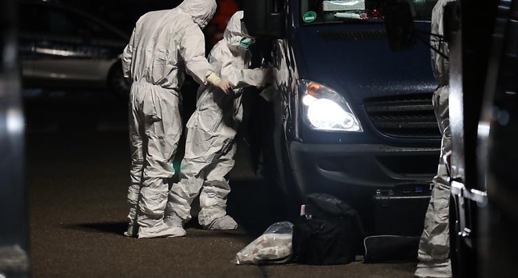 Plusieurs morts et blessés dans deux fusillades près de Francfort