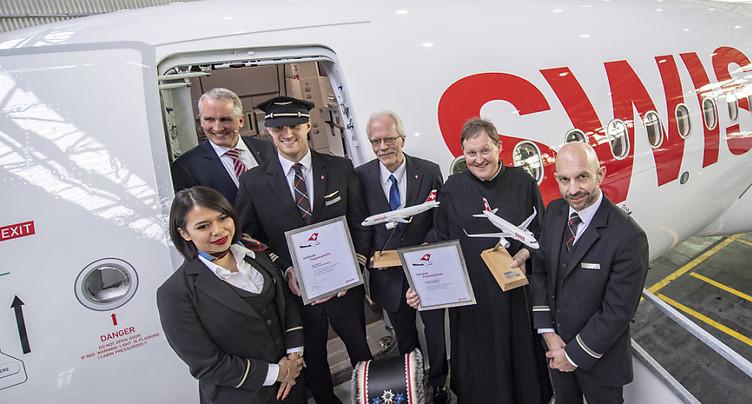 Swiss reçoit son premier A320neo plus économe en carburant
