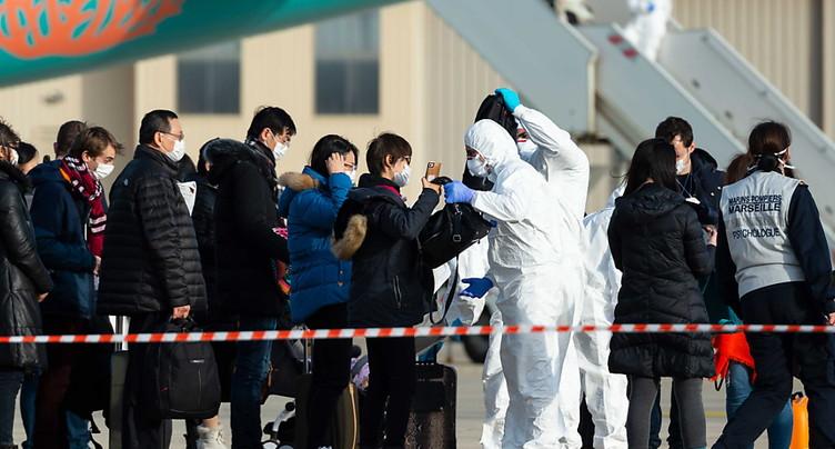 Cinq Suisses sont rapatriés de Chine