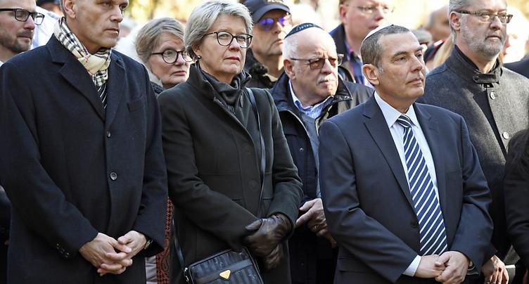 Hommage aux victimes de Würenlingen (AG), 50 ans après l'attentat