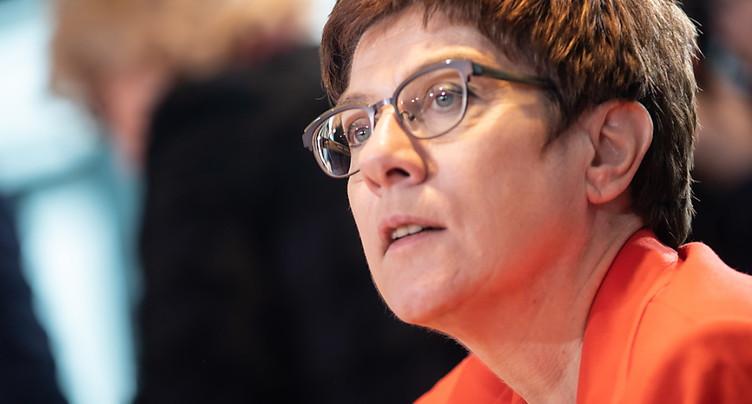 Le parti d'Angela Merkel s'enfonce dans la crise