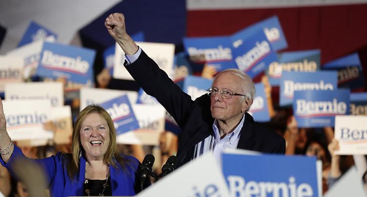 Primaires du Nevada: Sanders en tête, selon de premiers résultats