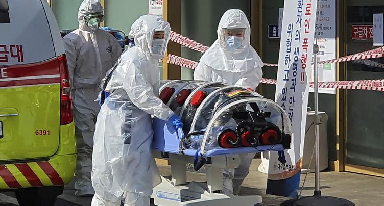 La Corée du Sud annonce 161 nouvelles contaminations et deux décès
