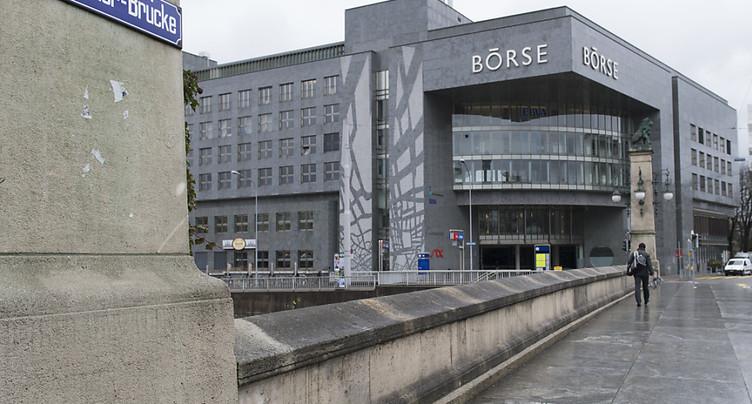 La Bourse de Zurich recule fortement, le coronavirus inquiète