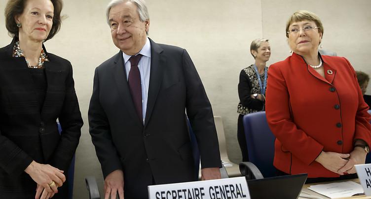 Guterres cible les féminicides et promet une parité à l'ONU en 2028