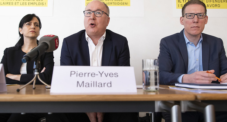 Les syndicats ne veulent pas de l'initiative de limitation de l'UDC