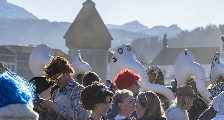 Près de 40'000 spectateurs pour le cortège à Lucerne
