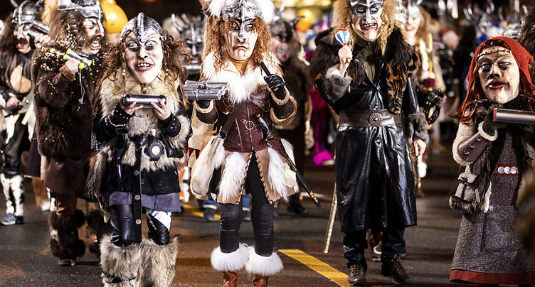 Cortège final du carnaval de Lucerne