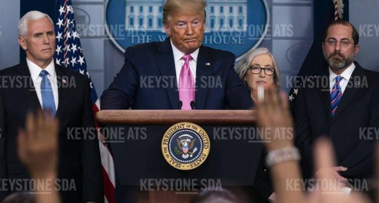 Large propagation aux Etats-Unis pas « inévitable », selon Trump