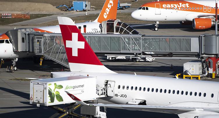 Easyjet espace la fréquence de liaisons entre la Suisse et l'Italie