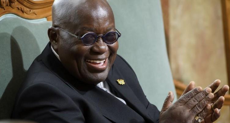 Le président du Ghana en visite officielle en Suisse