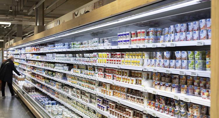 Demande en hausse de désinfectants et de certains aliments