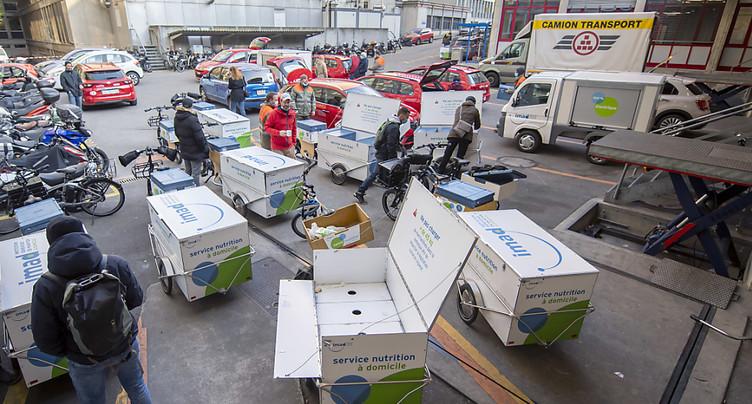 Toujours plus de repas livrés à domicile à Genève