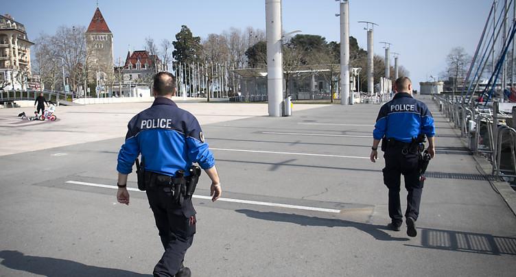 La police lausannoise enchaîne les patrouilles
