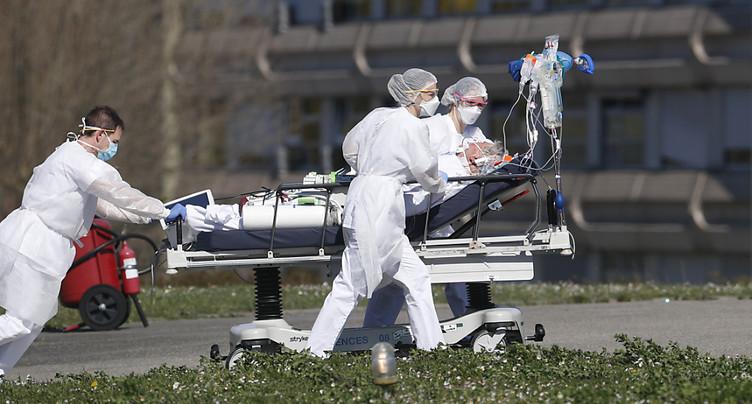 Trente-six patients du Grand Est évacués à Nancy et Mulhouse
