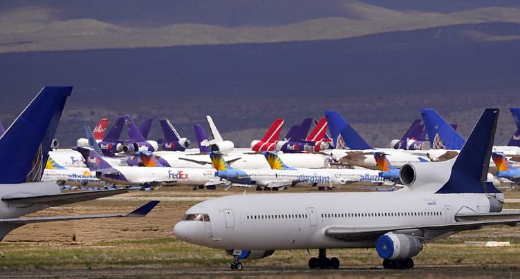 Washington pourrait prendre des parts dans les compagnies aériennes