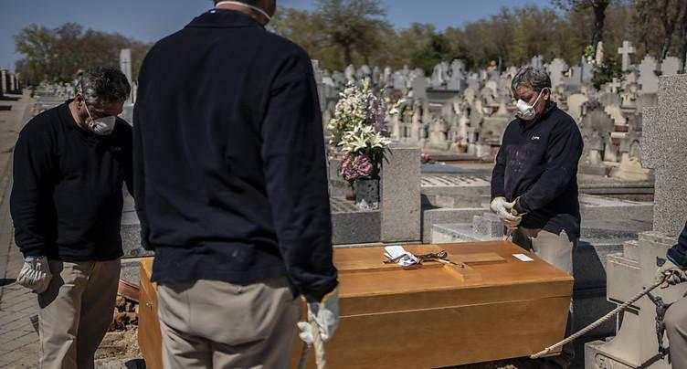 L'Espagne interdit toute cérémonie funéraire
