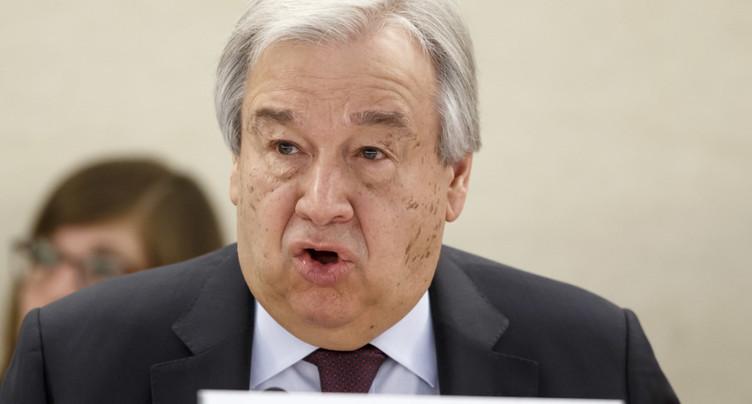 Le chef de l'ONU exhorte le monde à protéger les femmes