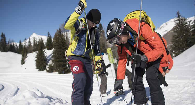Avalanches: le plus faible nombre de morts depuis 60 ans