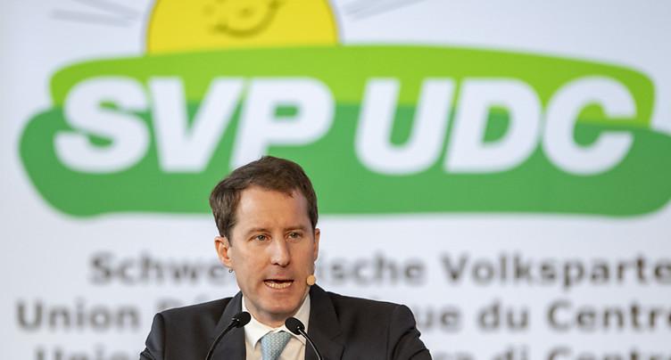 L'UDC demande au Conseil fédéral de relancer l'économie