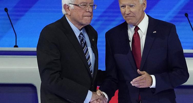 Sanders jette l'éponge, Biden affrontera Trump en novembre