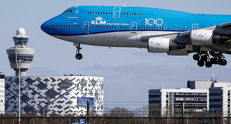 Chute de 57% du nombre de passagers pour Air France-KLM en mars