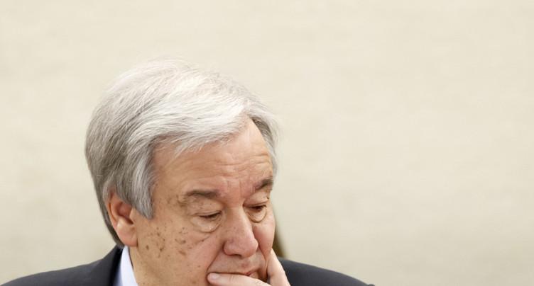 Le chef de l'ONU exhorte le Conseil de sécurité à l'unité