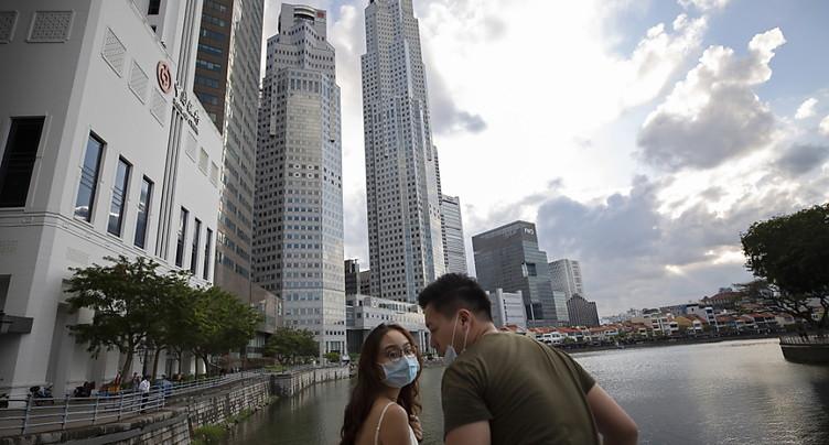 Singapour: hausse du nombre de cas de coronavirus, signe d'une « deuxième vague »