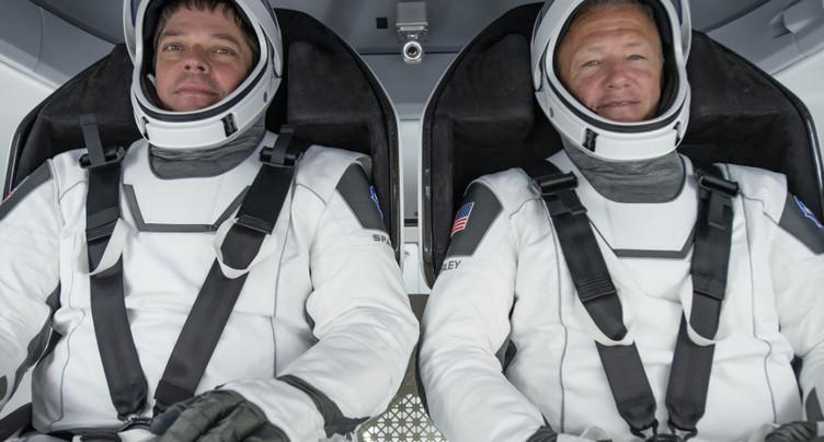 Feu vert de la Nasa pour le premier vol habité de SpaceX le 27 mai