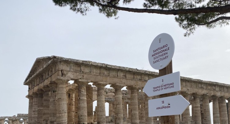 Italie: le site antique de Paestum rouvre, avant son rival Pompei
