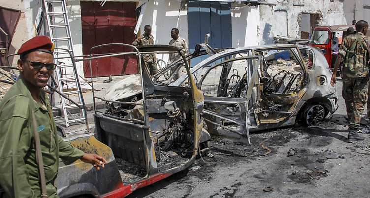 Au moins cinq morts dans une explosion en Somalie pendant l'Aïd