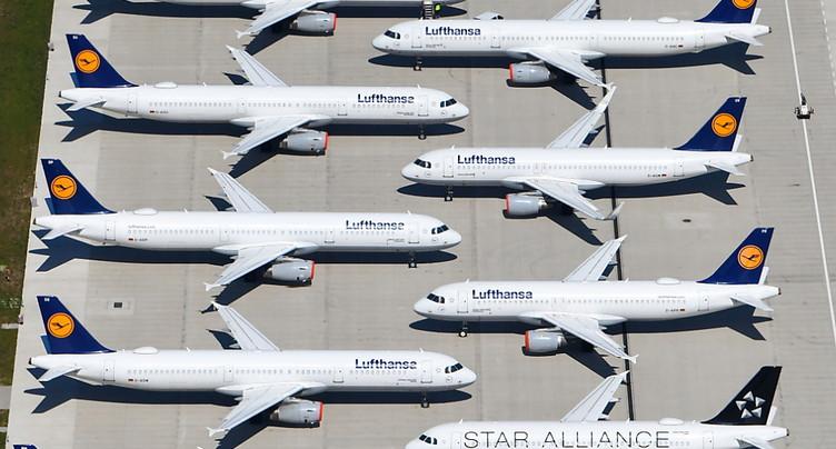 Lufthansa: accord avec l'Etat sur un énorme plan de sauvetage