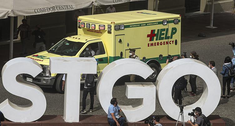 Chili: record de contaminations, deux ministres positifs