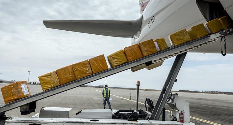 Effondrement du commerce extérieur de la Suisse en avril