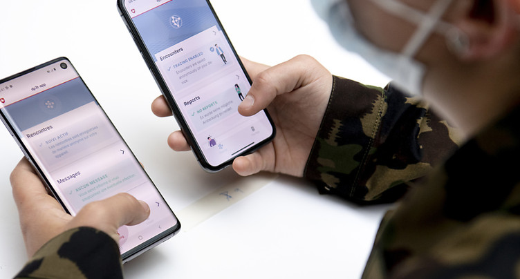 Test de SwissCovid possible sur tous les smartphones Android