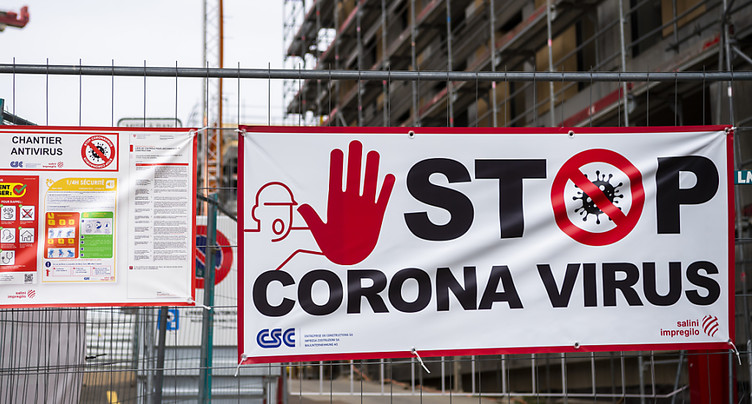 La construction freinée par le coronavirus au premier trimestre