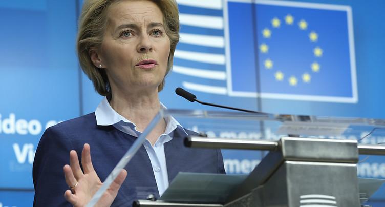 UE: 750 milliards d'euros pour relancer une économie exsangue