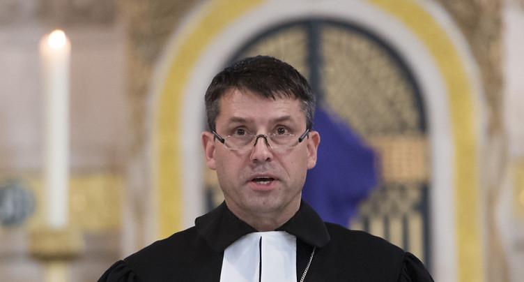 Démission du président de l'Eglise évangélique réformée de Suisse