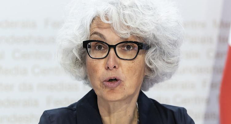 Katrin Schneeberger directrice de l'Office de l'environnement