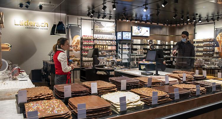 Le chocolatier Läderach supprime 27 postes, invoque le coronavirus