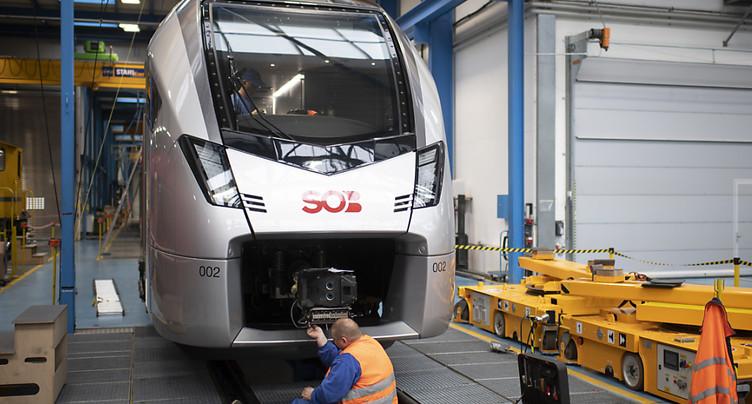 Rançon de 6 millions de dollars demandée à Stadler Rail