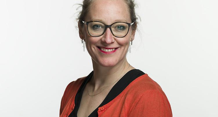 Aline Trede (BE) à tête du groupe parlementaire vert