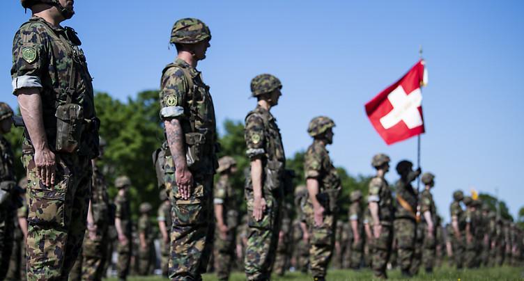 Fin de l'engagement de l'armée suisse au profit du système de santé