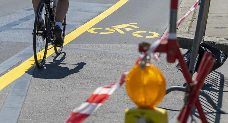Pistes cyclables: Vaud appuie sur la pédale d'accélération