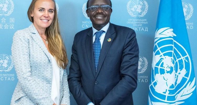 ONU: la Genevoise Dona Bertarelli conseillère pour l'économie bleue