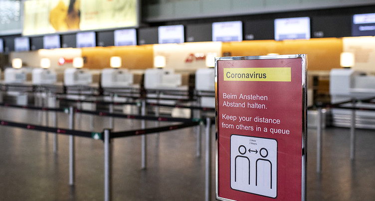 Trafic passagers réduit à néant à Kloten en avril et en mai