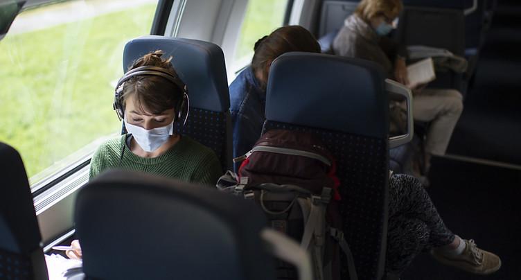 Masques obligatoires dans les transports publics en Suisse