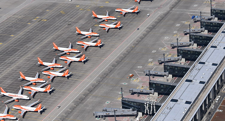 Easyjet ne remet pas en question son implantation en Suisse